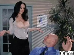 Big Round Interior Girl (jayden jaymes) Get Hard Banged Close to Office movie-22