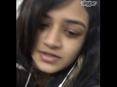 Indian Sexy Cute Famous Skype Be in Friend Homemade Clamp 5 -Wowmoyback