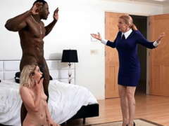 Khloe Capri gets caught with her way-out stepdad Jax Slayher