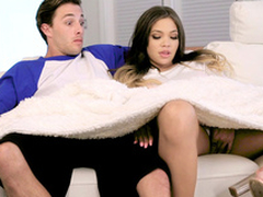 Cassidy Banks waits for her phase and plays nigh his roommate