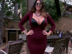Alison Tyler Clothed gigantic simple confidential and botheration
