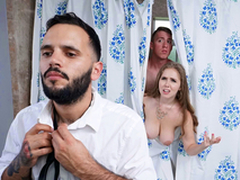 Trimmed Housewife Blows Stepson - Lena Paul In chum around with annoy porn scene