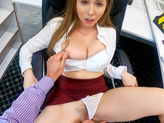 Lena Paul In the porn scene - Overtime at Work With My Frying Brass hat