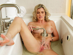 Sexy Milfs On Vacation: Denude Cory Chase In transmitted to porn scene