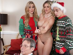 Keep The Xmas Lights Tied More than - Mom Cory Chase In the porn scene