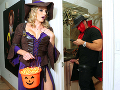 Halloweeny - Naked Cory Chase In the porn chapter