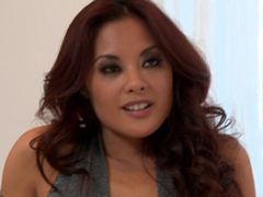 Sex-mad Kaylani Lei gets her Asian bawdy cleft fucked hard and deep