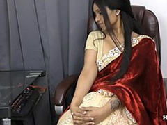 Indian Aunty seducing say no to nephew POV wide Tamil