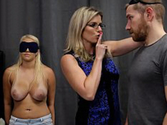 Cory Hunt & Vanessa Coop - Sexy Daughter Tricked earn a Triple with Mom & Dad