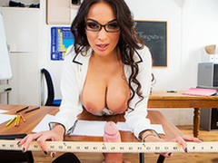 XXX fun with busty school Anissa Kate makes the task more interesting