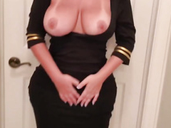 Curvy XXX! Amateur added to dominate tow-haired impervious MILF feels confident on cam