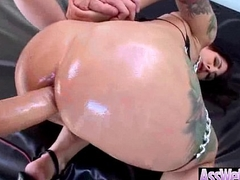 Anal Intercorse With (dollie darko) Curvy Butt Cooky Oiled Up clip-08