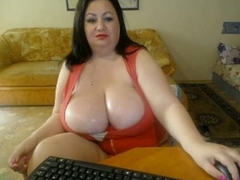 Chubby Breast Brunette MILF Shows Heart of hearts Web camera Sinistral Nails CamGirlCumClub.Com